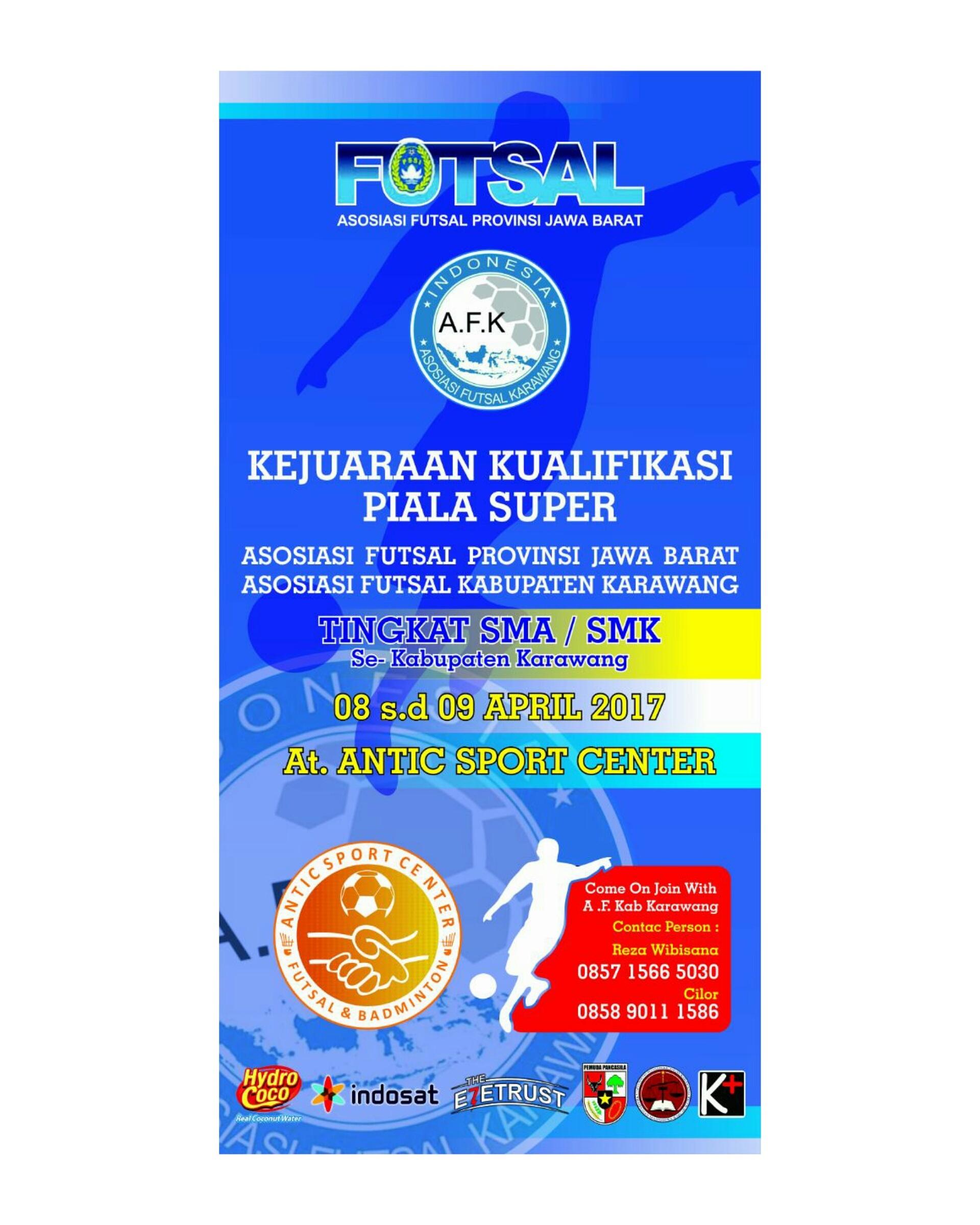 3 Minggul Lagi Gelaran Kualifikasi Kejuaraan Futsal Antar SMK SMA di Karawang Karawang Plus