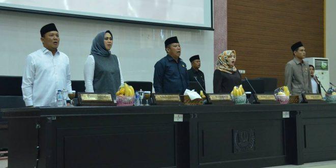 DPRD Karawang Gelar Rapat Paripurna Pengesahan dan Pembentukan Raperda Baru