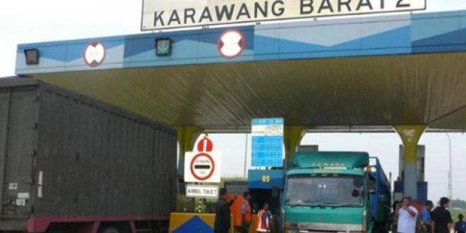 Cari Jalur Alternatif ! Gerbang Tol Karawang Barat 2 Ditutup