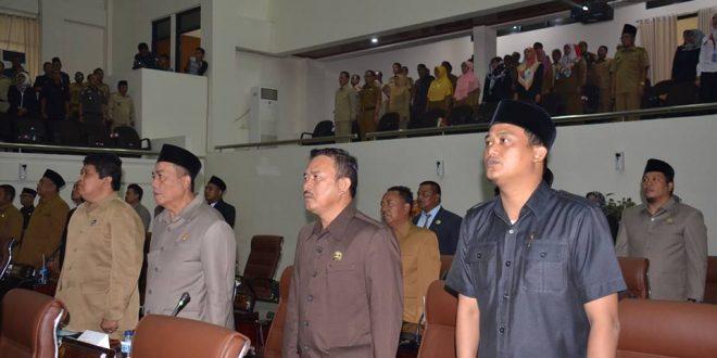 DPRD Karawang Gelar Paripurna Penetapan LKPJ Bupati