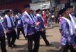 Pembukaan MTQ Jabar, Tim Pawai Ta'aruf Karawang Paling Semarak