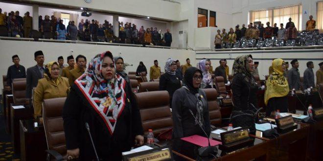 Rapat Paripurna, Masa Reses Anggota DPRD Karawang Diumumkan