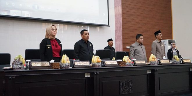 DPRD Karawang Gelar Paripurna Perdana Tahun 2019