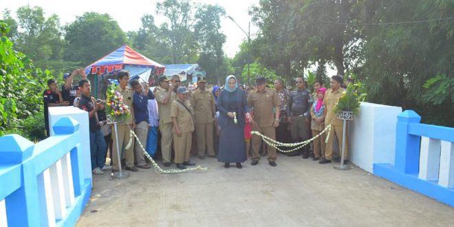 Jembatan Kalijeruk Diresmikan, Ini Pesan Bupati untuk Warga Desa Darawolong