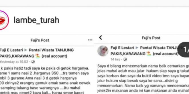 Masuk Lambe Turah, Warung Gurame Pakisjaya Viral se Indonesia